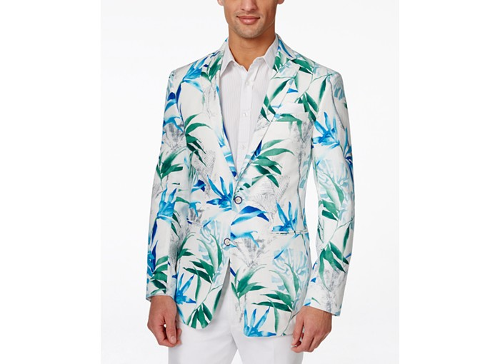 Men's floral blazer from Macy's