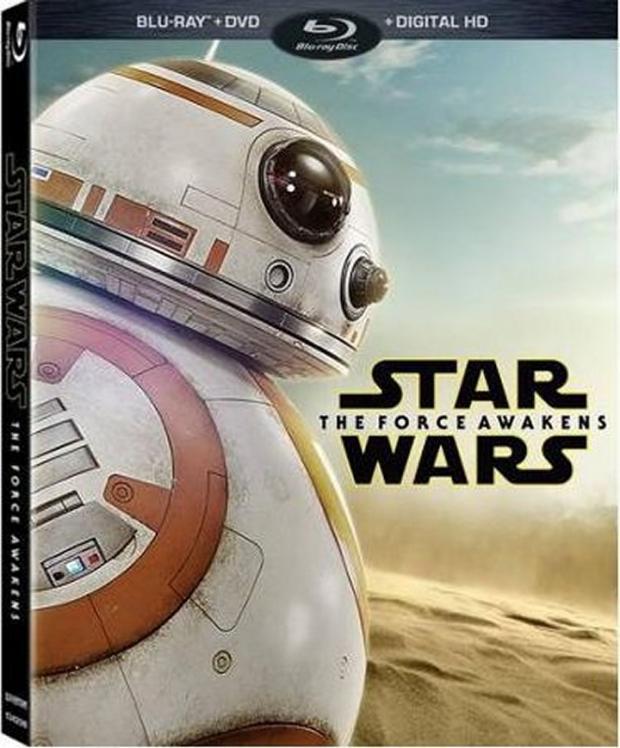 Star Wars: The Force Awakens Blu-Ray/DVD box art