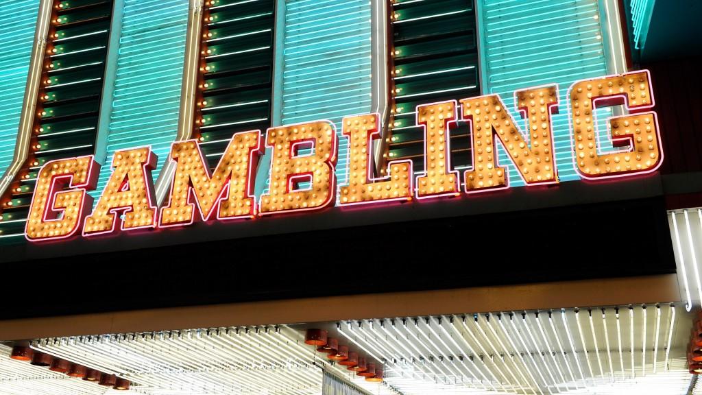 neon gambling sign