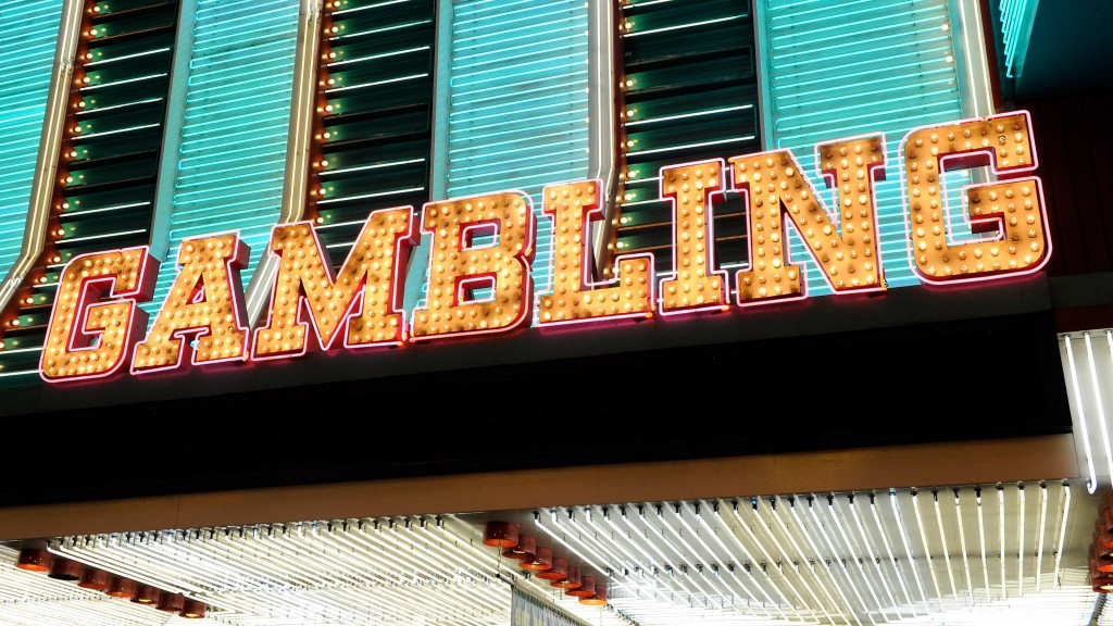 neon gambling sign