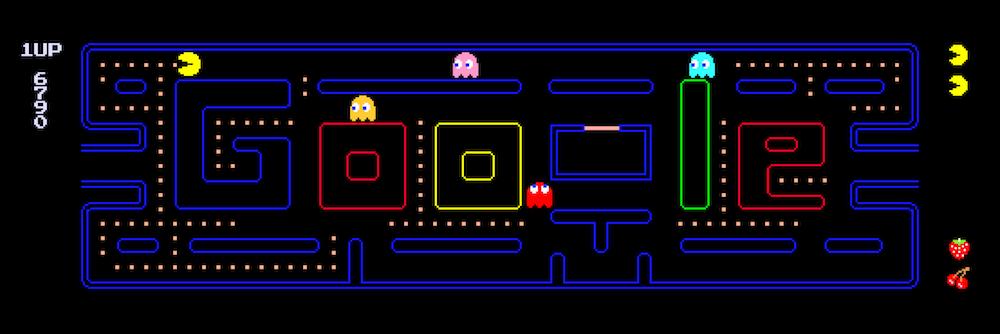 Google Pac-Man doodle