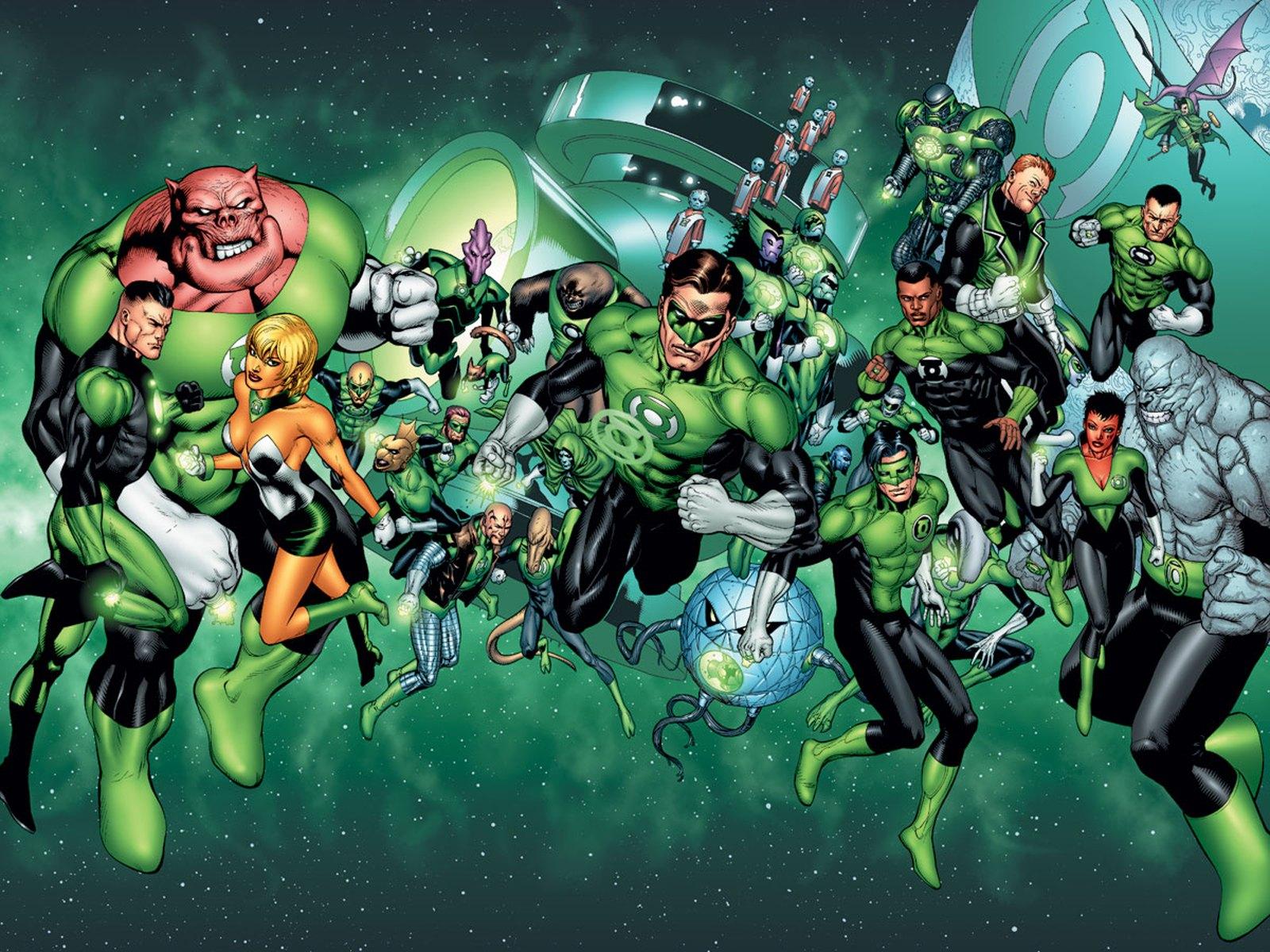 Green Lantern Corps - DC Comics