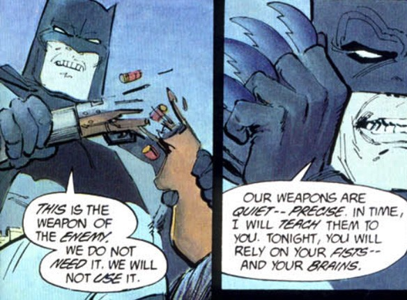 Batman - Guns, DC Comics