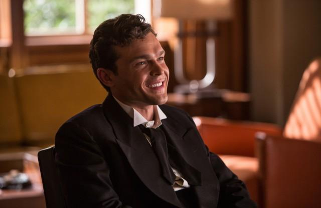 "Alden Ehrenreich as Hobie Doyle in ""Hail, Caesar!"""