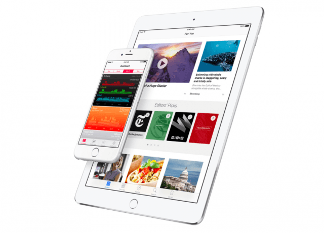 iOS 9.3 adds a number of improvements for iPhones and iPads, including new features for Health and News
