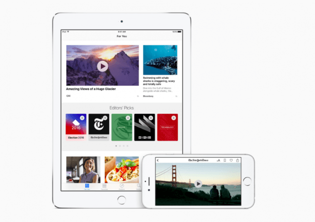 iOS 9.3 adds a number of improvements for iPhones and iPads, including updates to the News app