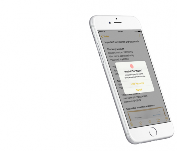 iOS 9.3 adds a number of improvements for iPhones and iPads, including passcode or TouchID protection for Notes