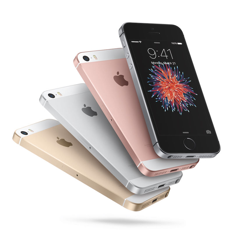 Apple introduced the 4-inch iPhone SE at an event on March 21