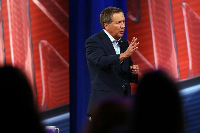 John Kasich at CNN Town Hall