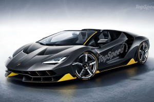 Here's What a Lamborghini Centenario Roadster Could Look Like