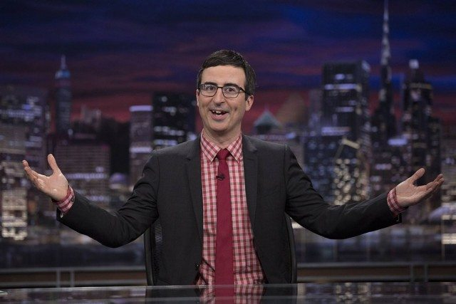John Oliver is the host of HBO's half-hour news show 'Last Week Tonight'