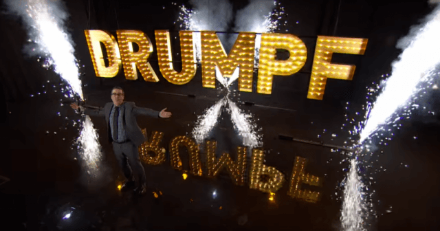 John Oliver received a considerable amount of attention for his 'Last Week Tonight' segment on Donald Trump.