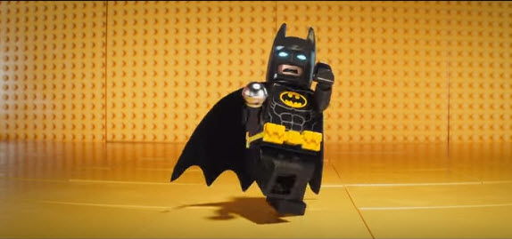 Batman beatboxing in the teaser trailer for 'The LEGO Batman Movie'