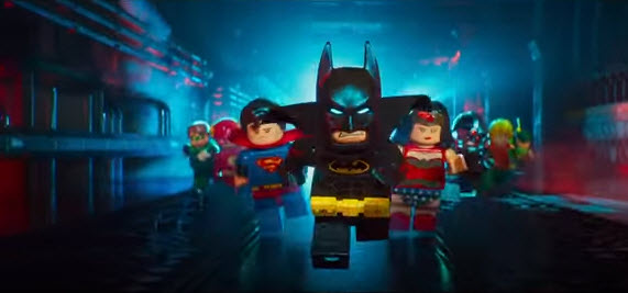The Justice League assembles in 'The LEGO Batman Movie'