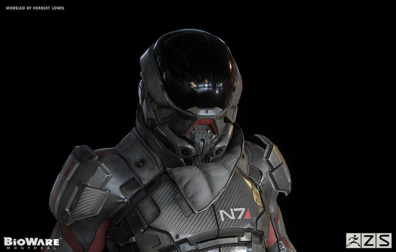 Pathfinder, the hero of Mass Effect: Andromeda