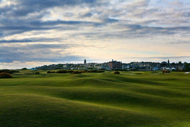 famous golf course, The Old Course at St. Andrews
