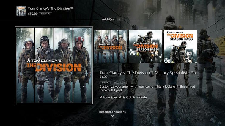 Rumor has it that this is the new layout coming to the PlayStation Store on PS4.