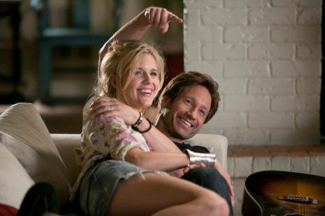 David Duchovny and Maggie Grace in a scene from 'Californication'