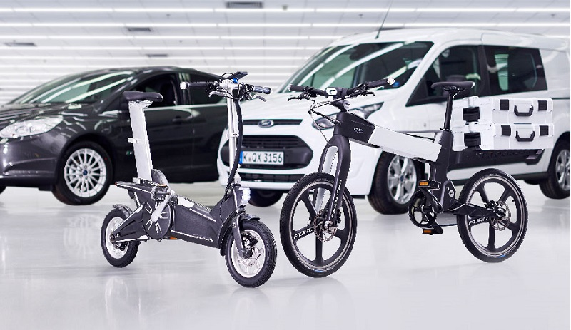 Electric bikes, ford