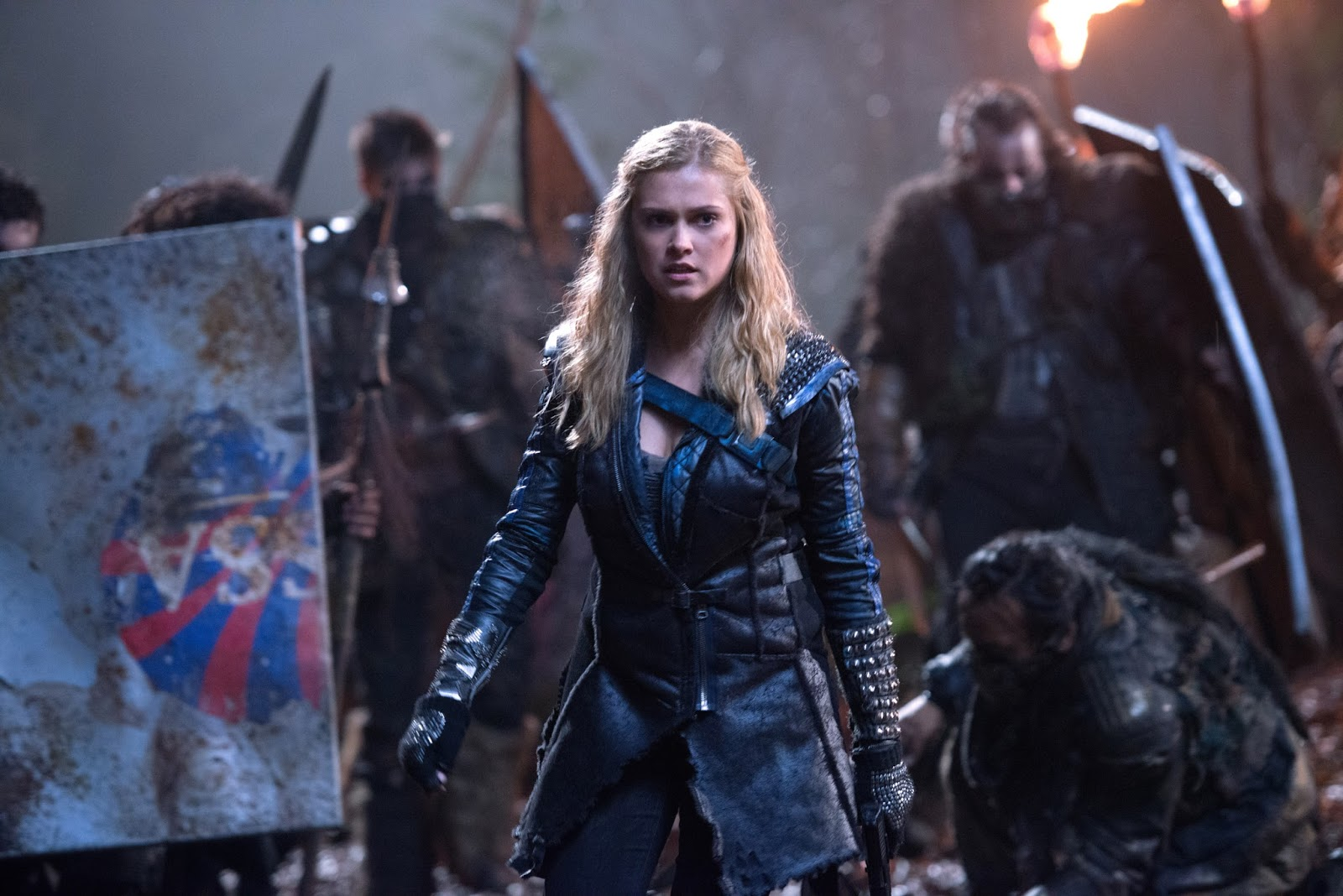 The 100 - Eliza Taylor, Clarke Griffin