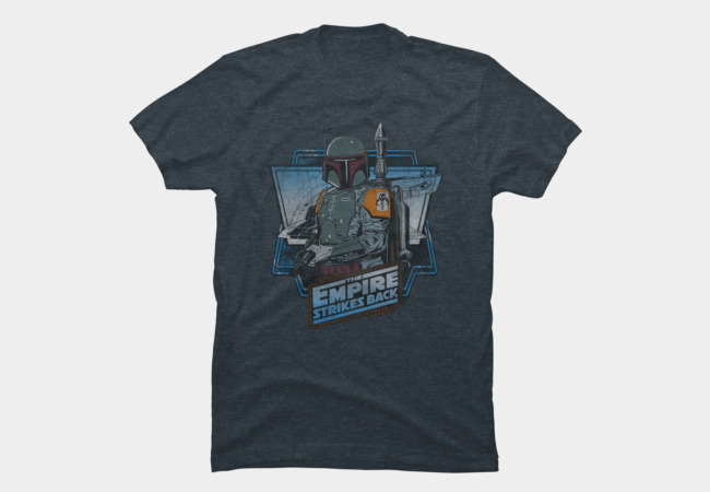 The Empire Strikes Back t- shirt