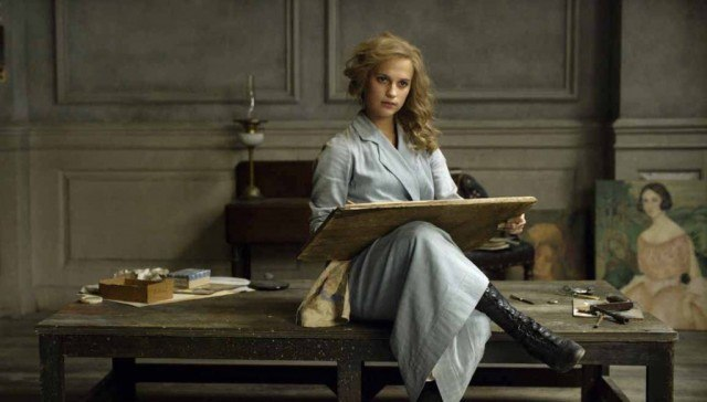 Alicia Vikander as Gerda Wegener in 'The Danish Girl'