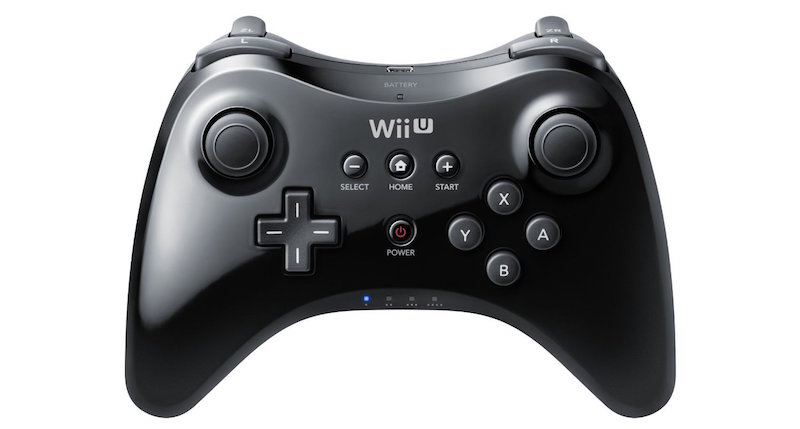 The Wii U Pro Controller from Nintendo