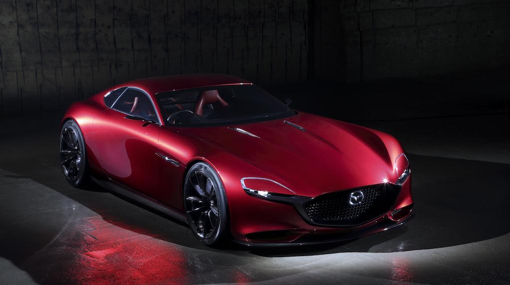 The Mazda RX Vision Concept