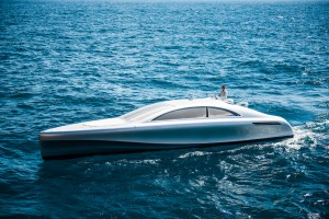 Mercedes Tests Waters With New Yacht Concept