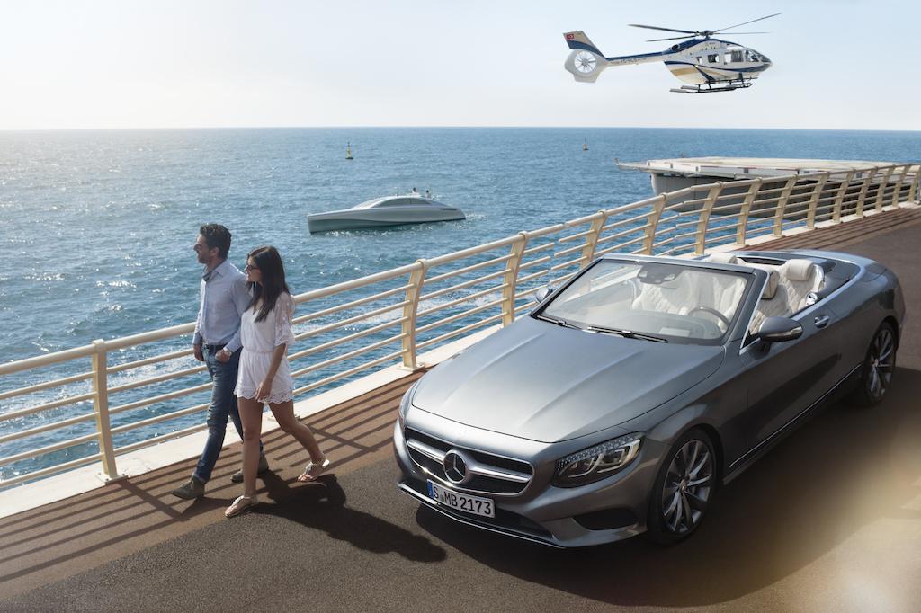 Mercedes yacht concept