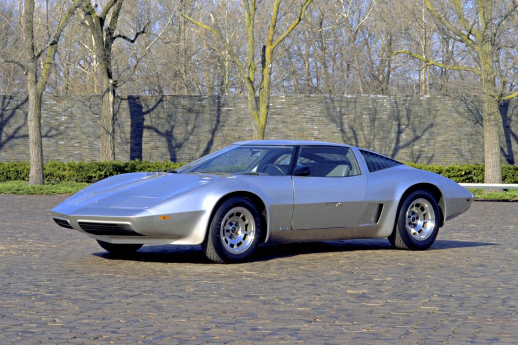 1973 mid-engined Aerovette concept  Source: Chevrolet
