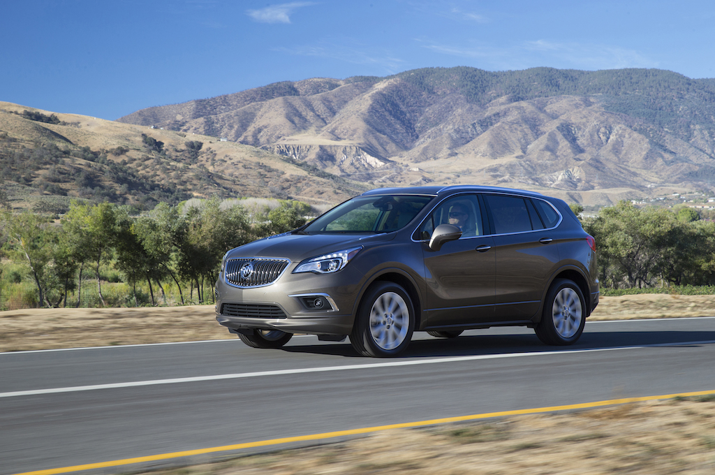 2016 Buick Envision Driving Side