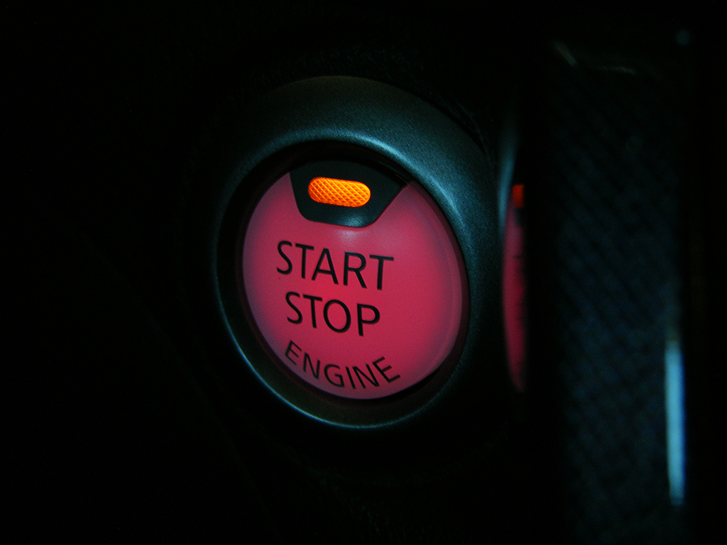 Nissan Sentra push-button start