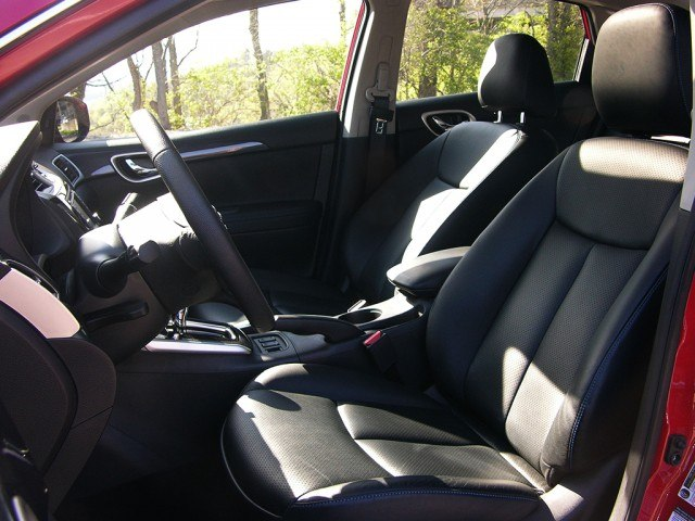 Nissan Sentra leather seats