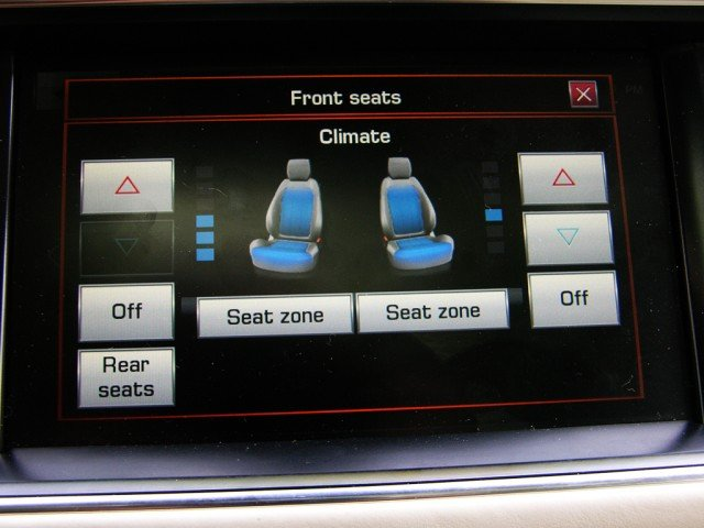 Ventilated and heated seats
