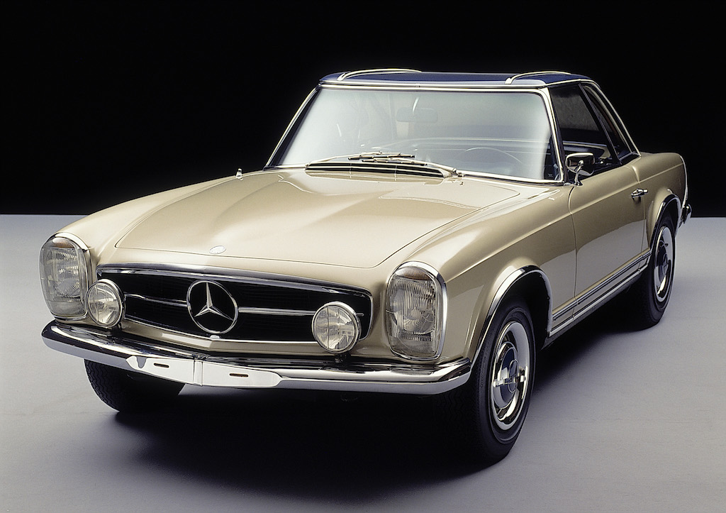 An old Mercedes 230 SL
