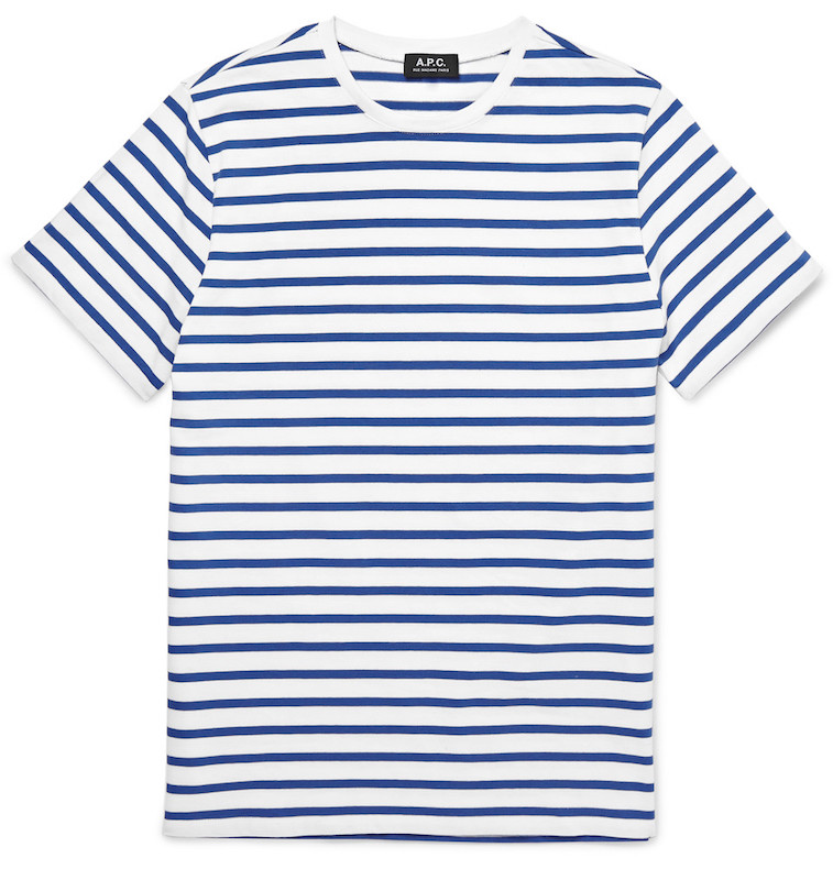 A.P.C. striped t-shirt at Mr. Porter