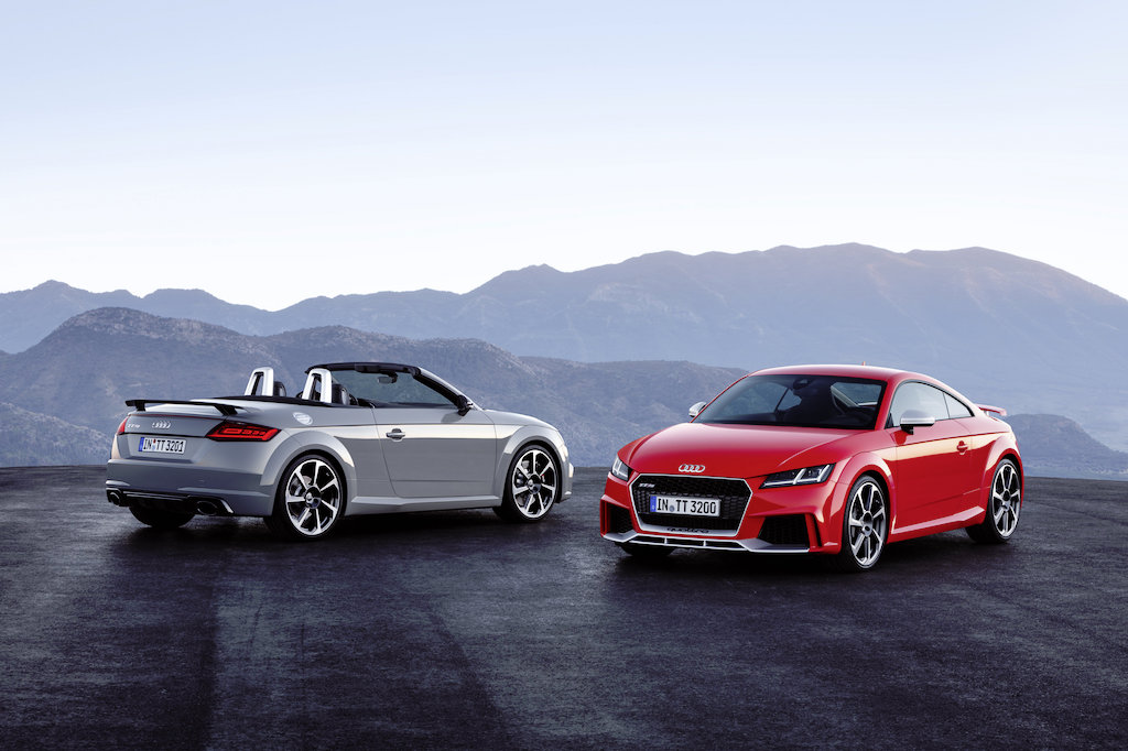 Audi TT RS Roadster and Audi TT RS Coupé