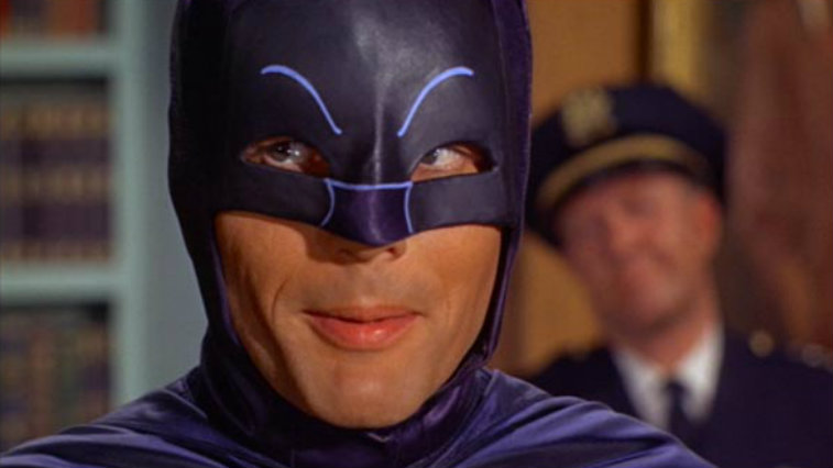 Adam West in Batman: The Movie