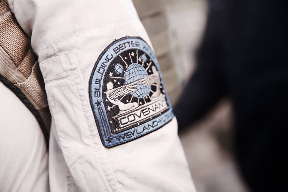 Mission patch from Alien: Covenant