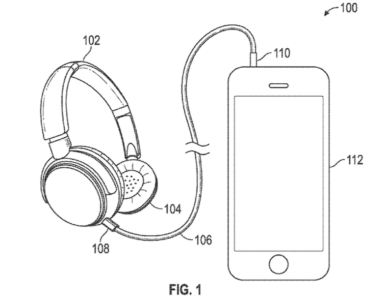 Apple patent application Lightning-equipped EarPods