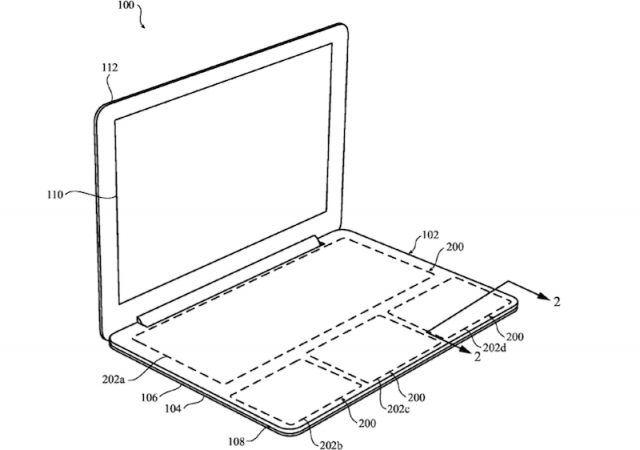 Apple patents a design for a MacBook without a keyboard