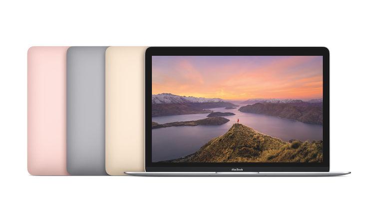 Apple's new MacBook family