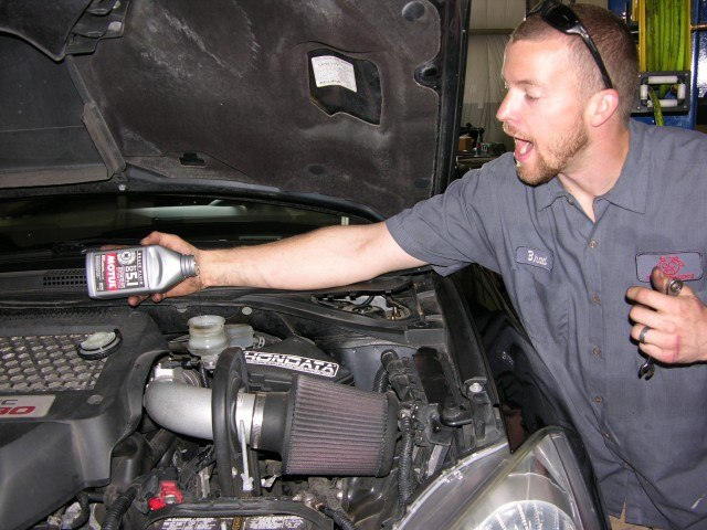 Topping off fluid
