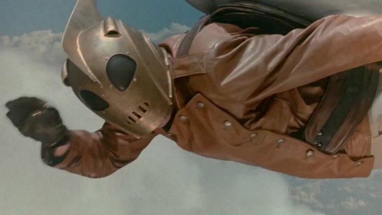 Billy Campbell in The Rocketeer