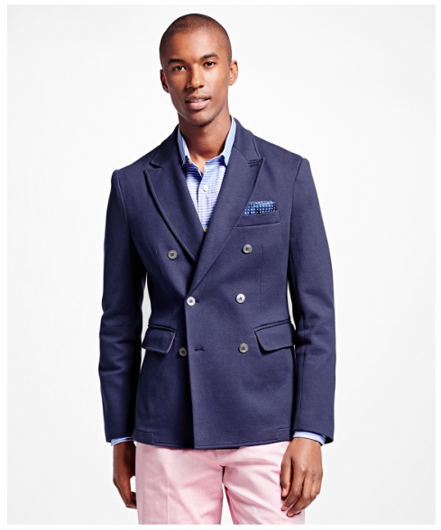 Brooks Brothers double-breasted blazer