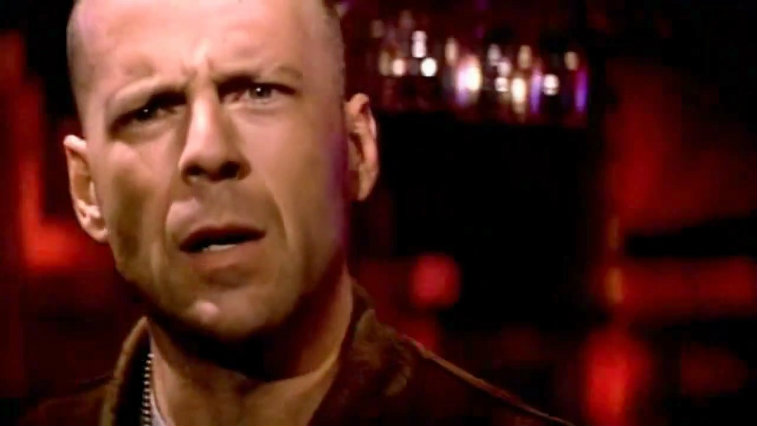 Bruce Willis in Pulp Fiction
