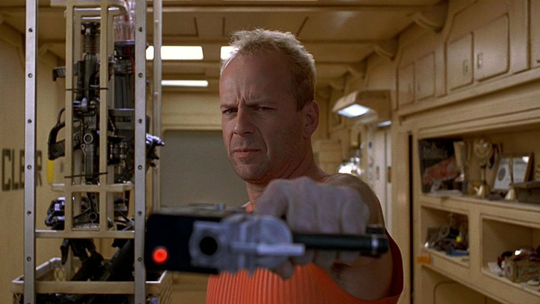 Bruce Willis in The Fifth Element