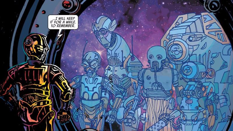 C-3PO Comic Book, Issue #1