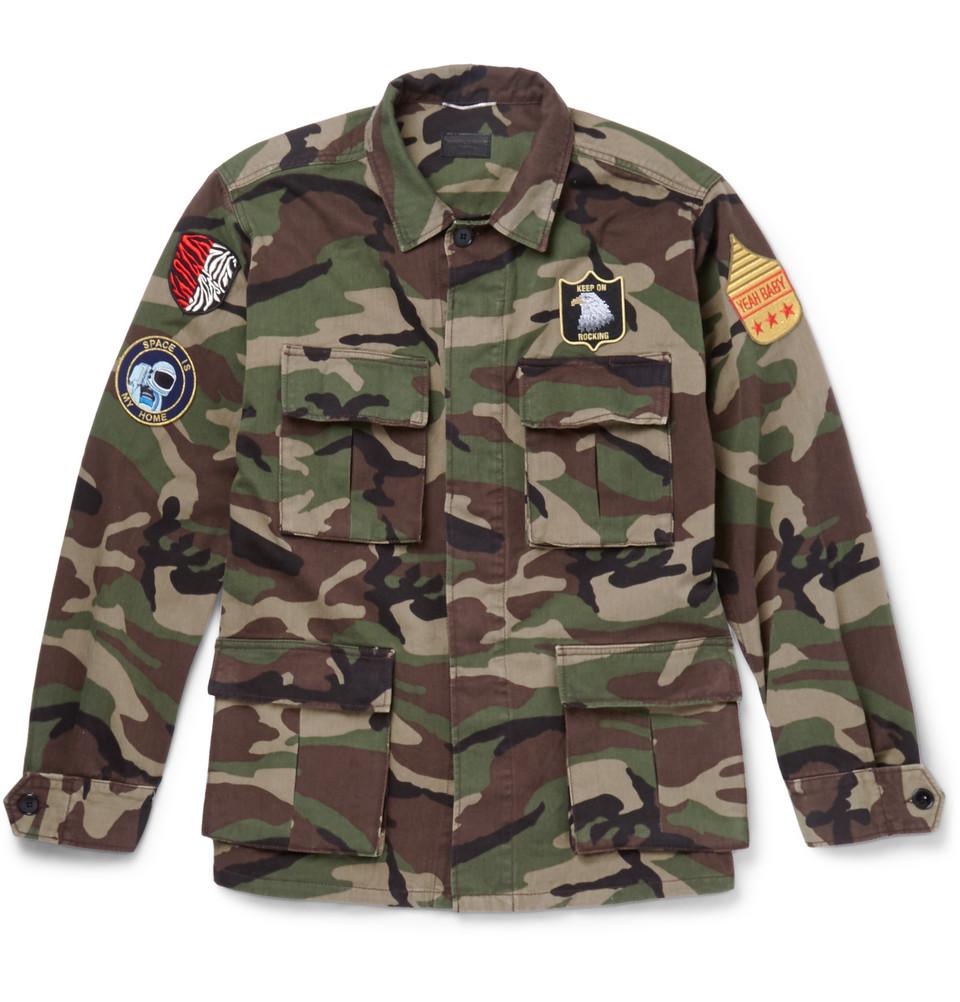 camo jacket